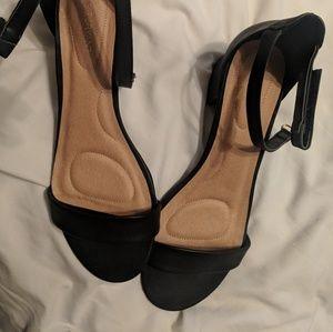 Lane Bryant heeled sandals